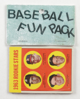 1963 Topps Baseball Card Fun Pack with (10) Cards at PristineAuction.com