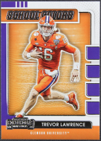 Trevor Lawrence 2021 Panini Contenders Draft Picks School Colors #1 RC at PristineAuction.com