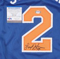Larry Johnson Signed Jersey (PSA COA) at PristineAuction.com