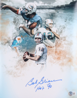 """Bob Griese Signed Dolphins 11x14 Photo Inscribed """"HOF 90"""" (Beckett Hologram) at PristineAuction.com"""