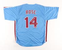 "Pete Rose Signed Jersey Inscribed ""Charlie Hustle"" (Fiterman Sports Hologram) at PristineAuction.com"