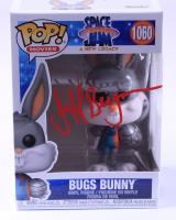 "Jeff Bergman Signed ""Space Jam: A New Legacy"" #1060 Bugs Bunny Funko Pop! Vinyl Figure (PSA COA) at PristineAuction.com"