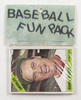 1966 Topps Baseball Card Fun Pack with (10) Cards at PristineAuction.com