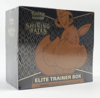 Pokemon Shining Fates Elite Trainer Box with (10) Booster Packs (See Description) at PristineAuction.com
