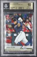 Ronald Acuna 2018 Topps Now #125 / 11131 RC (BGS 10) at PristineAuction.com