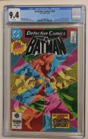 "1984 ""Detective Comics"" Issue #535 DC Comic Book (CGC 9.4) at PristineAuction.com"