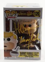 "Jeff Bergman Signed ""The Flintstones"" #120 Barney Rubble (With Cocoa Pebbles) Funko Pop! Vinyl Figure Inscribed ""Barney Rubble"" (PSA COA) at PristineAuction.com"