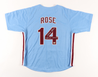 """Pete Rose Signed Jersey Inscribed """"1980 W.S. Champs"""" (Rose Hologram) at PristineAuction.com"""