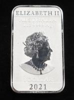 1 Oz .999 Fine Silver Elizabeth II Australia Silver Bullion Bar at PristineAuction.com