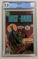 "1977 ""Batman"" Issue #292 DC Comic Book (CGC 7.5) at PristineAuction.com"