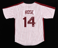 """Pete Rose Signed Jersey Inscribed """"1980 W.S. CHAMP"""" (Fiterman Sports Hologram) at PristineAuction.com"""