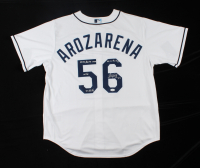 Randy Arozarena Signed Rays Jersey With Multiple Inscriptions (JSA COA) at PristineAuction.com