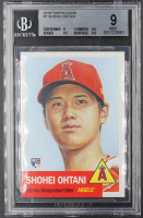 Shohei Ohtani 2018 Topps Living #7 / 20,966 RC (BGS 9) at PristineAuction.com