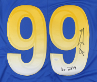"""Aaron Donald Signed Rams Jersey Inscribed """"3x DPOY"""" (JSA COA) at PristineAuction.com"""
