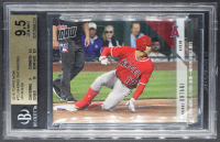 Shohei Ohtani 2018 Topps Now #72J Japanese / 2593 RC (BGS 9.5) at PristineAuction.com