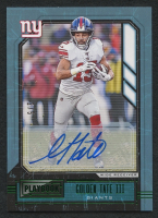 Golden Tate III 2020 Panini Playbook Signatures Green #53 #2/5 at PristineAuction.com