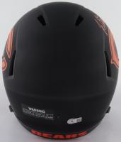 Justin Fields Signed Bears Full-Size Eclipse Alternate Speed Helmet (Beckett Hologram) at PristineAuction.com