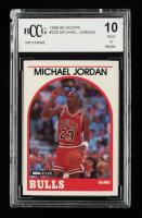 Michael Jordan 1989-90 Hoops #200 (BCCG 10) (See Description) at PristineAuction.com