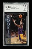 Kobe Bryant 1996-97 Stadium Club Rookies 2 #R9 (BCCG 10) (See Description) at PristineAuction.com
