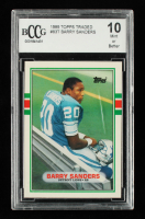 Barry Sanders 1989 Topps Traded #83T RC (BCCG 10) (See Description) at PristineAuction.com