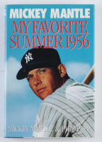 """Mickey Mantle Signed """"My Favorite Summer 1956"""" Hardcover Book (JSA ALOA) at PristineAuction.com"""