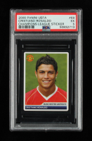 Cristiano Ronaldo 2006-07 Panini UEFA Champions League Stickers #69 (PSA 5) at PristineAuction.com