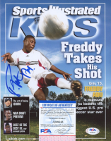Freddy Adu Signed D.C. United 8x10 Photo (PSA COA) at PristineAuction.com