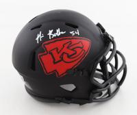 Nick Bolton Signed Chiefs Eclipse Alternate Speed Mini Helmet (Beckett Hologram) at PristineAuction.com