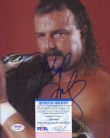 "Jake ""The Snake"" Roberts Signed WWE 8x10 Photo (PSA COA) at PristineAuction.com"