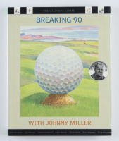 """Johnny Miller Signed """"Breaking 90 With Johnny Miller"""" Hardcover Book (JSA COA) at PristineAuction.com"""
