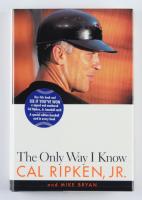 "Cal Ripken Jr. Signed ""The Only Way I knew"" Hardcover Book (JSA COA) at PristineAuction.com"