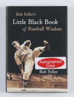 """Bob Feller Signed """"Bob Feller's Little Black Book of Baseball Wisdom"""" Hardcover Book (JSA COA) at PristineAuction.com"""