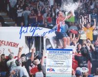 "Kurt Angle Signed WWE 8x10 Photo Inscribed ""Milk-O-Mania"" (PSA COA) at PristineAuction.com"