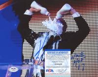"Kurt Angle Signed WWE 8x10 Photo Inscribed ""WWE HOF 17"" (PSA COA) at PristineAuction.com"