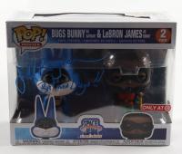 "Jeff Bergman Signed ""Space Jam: A New Legacy"" Bugs Bunny As Batman & Lebron James As Robin Funko Pop! Vinyl Figure Inscribed ""Batman Bugs"" (PSA COA) at PristineAuction.com"