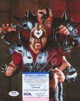 Road Warrior Animal Signed WWE 8x10 Photo (PSA COA) at PristineAuction.com