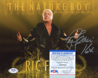"""Ric Flair Signed WWE 8x10 Photo Inscribed """"16x"""" (PSA COA) at PristineAuction.com"""