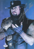 The Undertaker Signed WWE 8x10 Photo (PSA COA) at PristineAuction.com