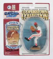 Bob Gibson Twice-Signed Cardinals Starting Lineup Action Figure with Card (Beckett COA) at PristineAuction.com