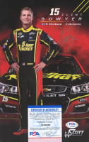 Clint Bowyer Signed NASCAR 7x11 Photo (PSA COA) at PristineAuction.com