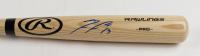 Ronald Acuna Jr. Signed Rawlings Pro Baseball Bat (JSA COA) at PristineAuction.com