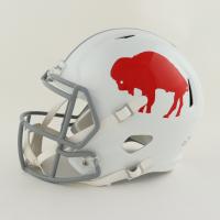 Josh Allen Signed Bills Full-Size Throwback Speed Helmet (Beckett Hologram) at PristineAuction.com