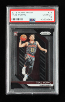 Trae Young 2018-19 Panini Prizm #78 RC (PSA 10) at PristineAuction.com