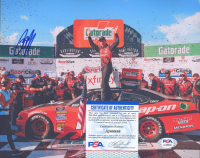 Brad Keselowski Signed NASCAR 8x10 Photo (PSA COA) at PristineAuction.com