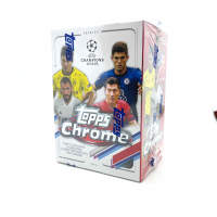 2020 Topps Chrome Champions League Soccer Blaster Box with (8) Packs at PristineAuction.com