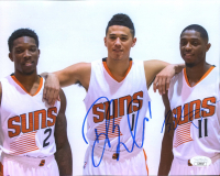 Devin Booker & Brandon Knight Signed Suns 8x10 Photo (JSA COA) at PristineAuction.com