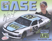 Joey Gase Signed NASCAR 8x10 Photo (PSA COA) at PristineAuction.com