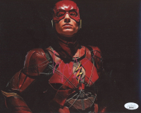 "Ezra Miller Signed ""Zack Snyder's Justice League"" 8x10 Photo (JSA COA) at PristineAuction.com"