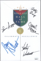 1999 World Golf Hall of Fame Brochure Signed by (5) with Patty Berg, Carol Mann, Amy Alcott, Kathy Whitworth, Louise Suggs (JSA COA) at PristineAuction.com