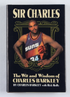 """Charles Barkley Signed """"Sir Charles: The Wit and Wisdom of Charles Barkley"""" Hardcover Book (JSA COA) at PristineAuction.com"""